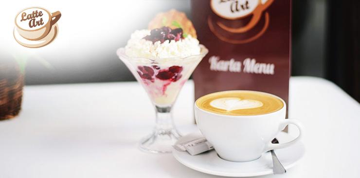 latte art kawiarnia zabrze